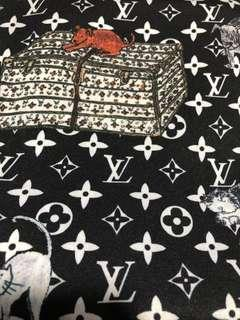 Lv pattern cloth