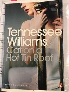 Cat on a hot tin roof Tennessee Williams literature