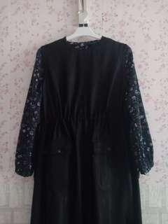 REPRICE! OVERALL+BLOUSE