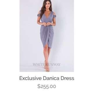 White Runway Danica Bridesmaid Dress!