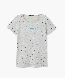 NEW!! Tshirt / Kaos Mango ORIGINAL!!  size M.