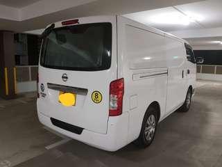 Van for rental short or long term