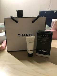 CHANEL base and makeup remover