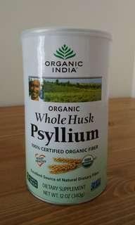 有機車前子Organic Whole Husk Psyllium