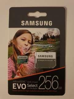 Samsung microSD Card 256GB 4K
