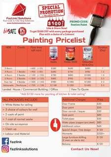 Painting below 1k ! (Homes only)