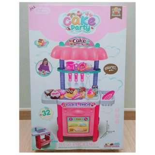 🚚 BNIB Cake Party Play Kitchen