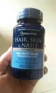 Puritan's Pride Hair, Skin, and Nails Vitamin