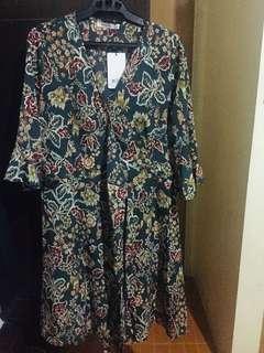 Wraparound dress