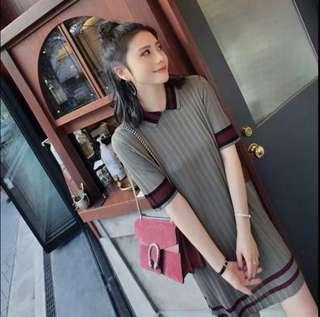 🆓📮Grey Knit Dress #SnapEndGame