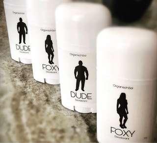 Organic Women's & Men's Deodorant