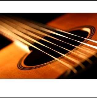 Acoustic Guitar string set 1st 2nd string Alice