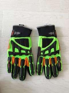 🚚 Ergodyne Gloves - Heavy duty gloves, bike cycling repair work protective gear