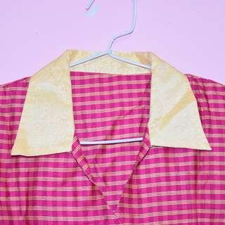 Pinky Gold Blouse