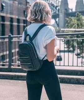 Status Anxiety Racketeer Leather Backpack