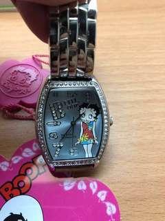 🚚 正版全新 Betty boop手錶