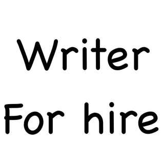 Ghost/Creative Writer