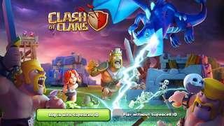 🚚 Crash of clan game account