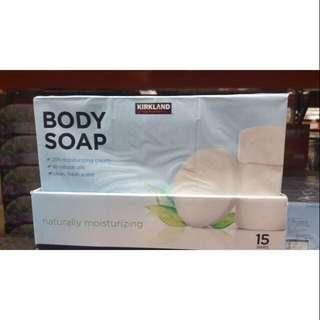 🚚 科克蘭 進口身體香皂含 1/4 乳霜 拆賣五入