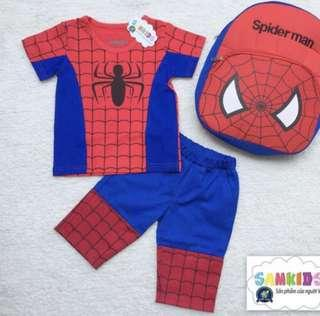 Spiderman Set (backpack included)