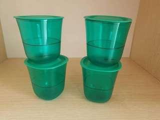 Tupperware Crystalline Short Glass (4) 230ml