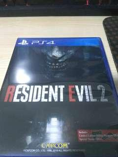 PS4 Resident Evil 2 (DLC unredeemed)