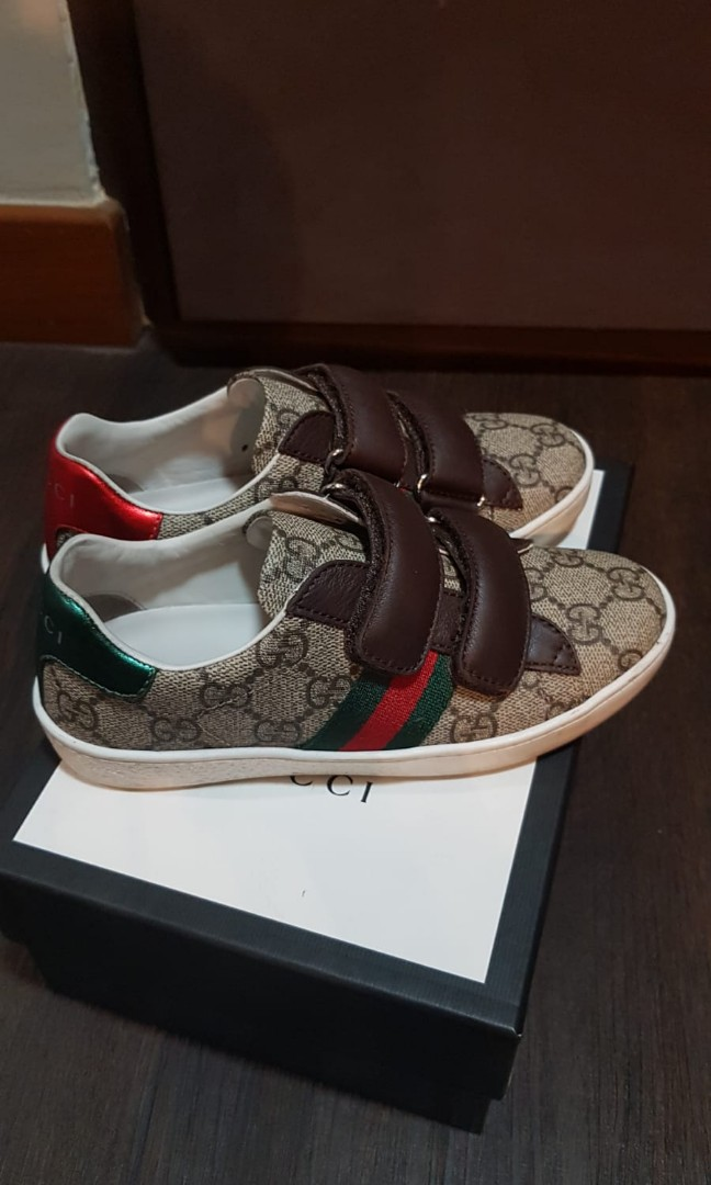 36eb834fc05 100% Authentic Gucci Kid s shoes
