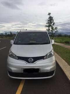 Nissan EVALIA 1.5 SV 2012