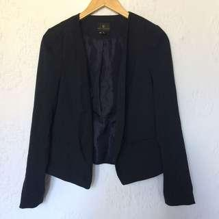 WORTHINGTON DARK BLUE BLAZER WITH STRIPES MEDIUM