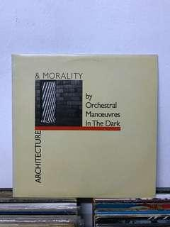 ORCHESTRAL MANOEUVRES IN THE DARK Architecture & Morality LP