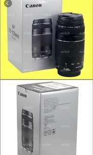 Canon   EF 75-300 mm f/  4-5.6 Lens