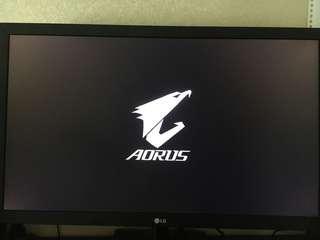 "LG 22"" 1080p 75hz monitor"