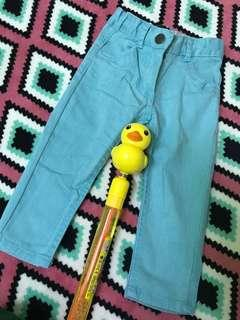 Turquoise Baby Jeans