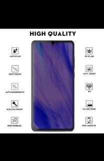 Huawei P30 High Definition Tempered Glass (Black Or White)