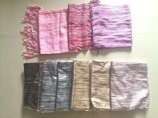 Pasmina/Scarf Serat Various Colour
