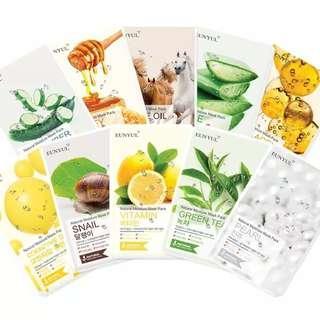 Korea mask sheet eunyul natural moisture