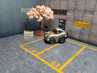 Choro Q My Garage Life Toyota 2000GT