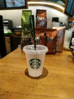 Starbucks Tumbler Reusable Cold Cup with Syren Logo for Cold Drink