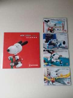 地鐵紀念車票 MTR Snoopy