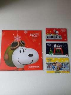港鐵紀念車票 MTR Snoopy