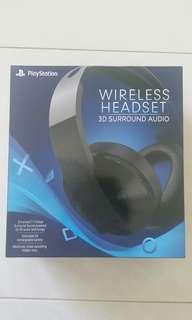 PlayStation wireless headset Sony