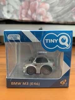 全新未開封 Tiny 微影 TinyQ BMW M3 E46 系列 灰色