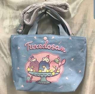 BRAND NEW Tuxedosam 2 ways sling bag
