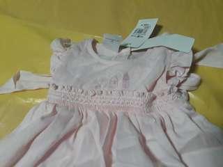 Dainty Pastel Pink Baby Dress