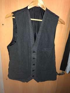Black Vest ZARA YOUTH MAN