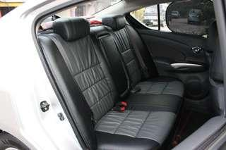 Saga Fl seat cover black
