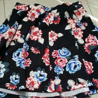 Flower Flare Skirt Cotton On
