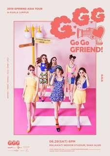 HELP TO BUYING TICKETS GFRIEND MALAYSIA CONCERT