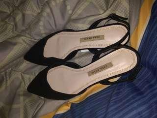 Black shoes zara