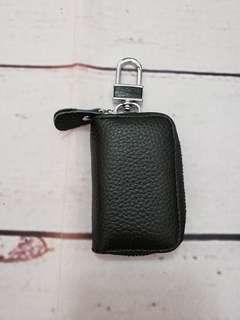 真皮車鑰匙包